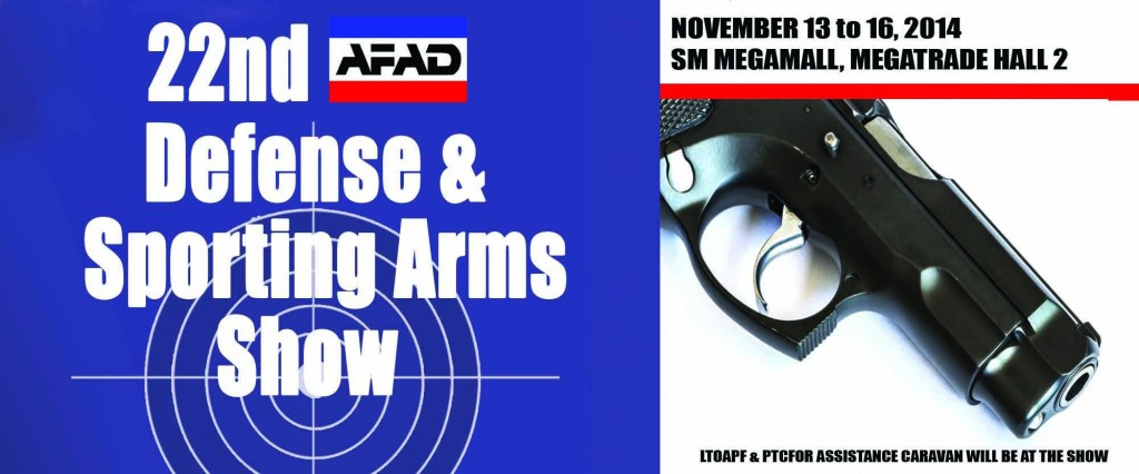 22nd Defense & Sporting Arms Show this November