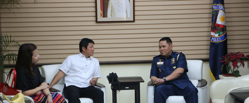 Courtesy call with the Chief of the Philippine National Police