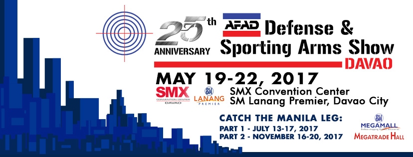 25 years of the AFAD Defense & Sporting Arms Show: The show goes to Davao!