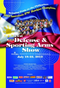 21st Defense & Sporting Arms Show this July