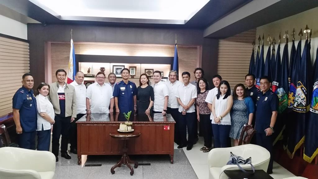 AFAD Board Courtesy Call to Police Director General Ricardo Marquez