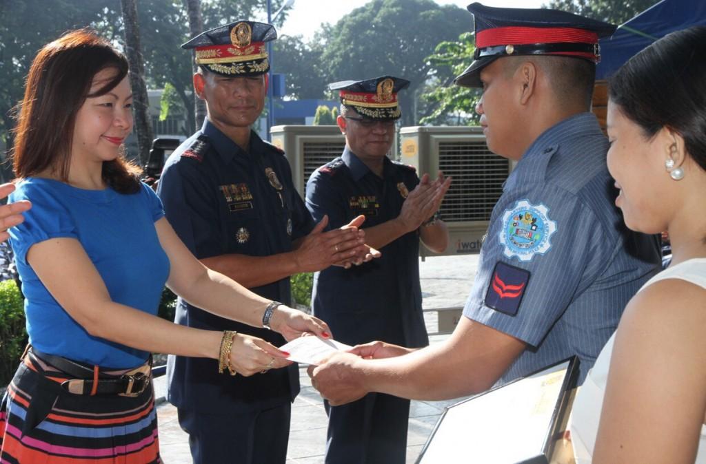 AFAD honors PO2 Cabansag