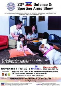 23rd DSAS (Nov) Poster
