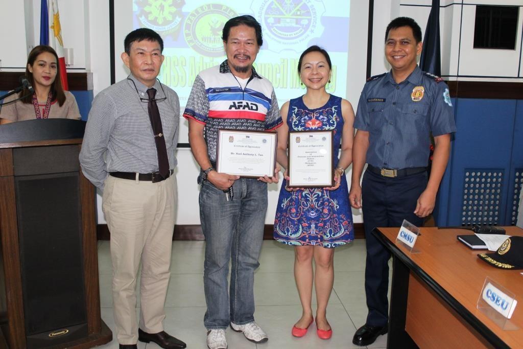 AFAD BEST Certificate of Appreciation