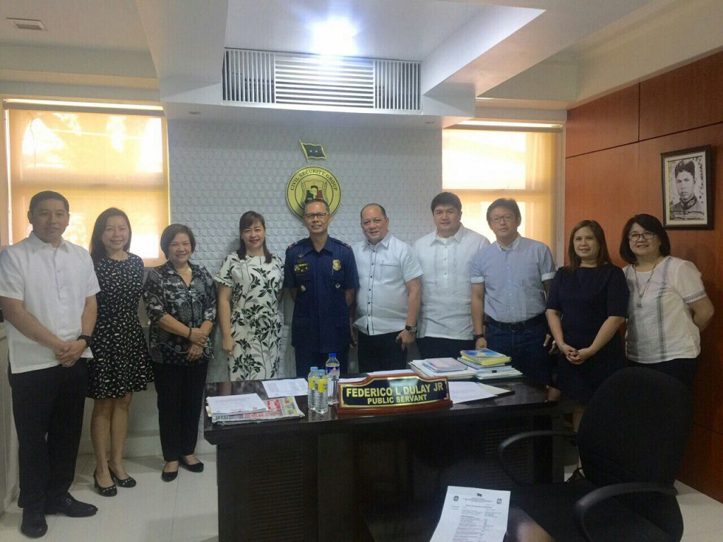 P/Chief Supt. Dulay flanked by the Board of Directors of AFAD, led by its president, Atty. Hector Rodriguez Jr.