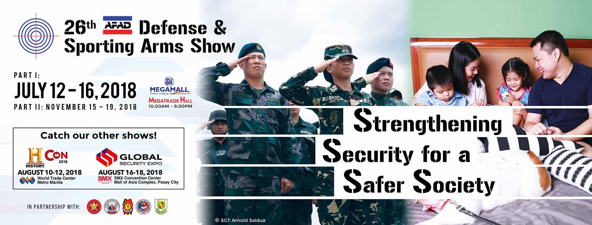 Strengthening Security for Safer Society : AFAD DSAS 2018 pt. 1