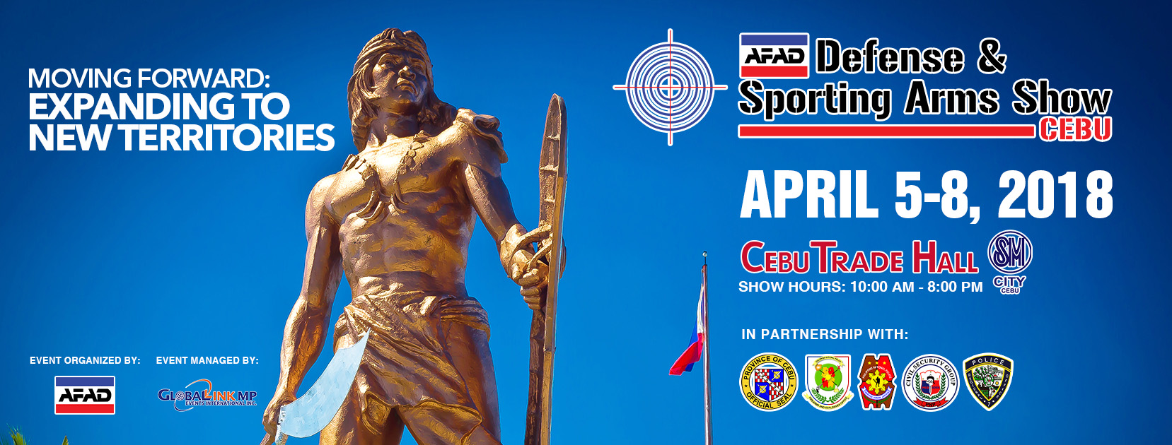 Expanding to new territories: AFAD Defense & Sporting Arms Show Cebu